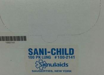 Simulaids Sani-Child  Lungs (100-2141) 100/pkg