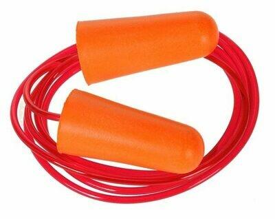 Ear Plug Corded PU Foam  -  200 (PORTWEST)