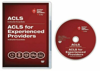 Advanced Cardiovascular Life Support (ACLS)/ACLS EP Instructor Essentials Course DVD