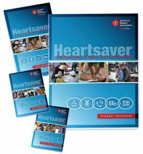 AHA Heartsaver Pediatric First Aid CPR AED Student Manual (15-1038)