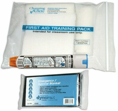 First Aid Training Pack - (1200FAK)