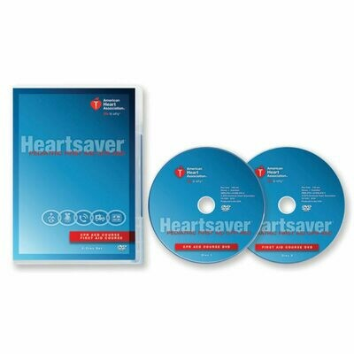 Heartsaver® Pediatric First Aid CPR AED DVD Set  15-1041