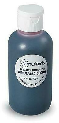 Simulated Coagulant Blood -4 oz Bottle