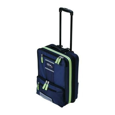 Kemp USA Navy Premium Ultimate Suitcase