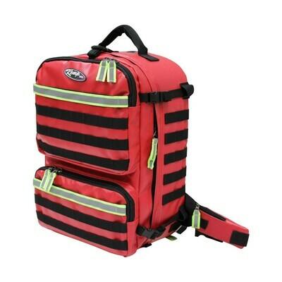 Kemp USA Tarpaulin Red Fluid-Resistant Rescue & Tactical Bag