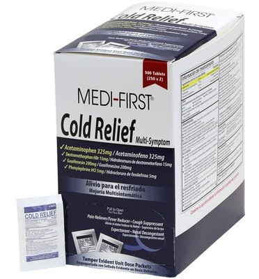 Medi-First Cold Relief 82248 125/2's