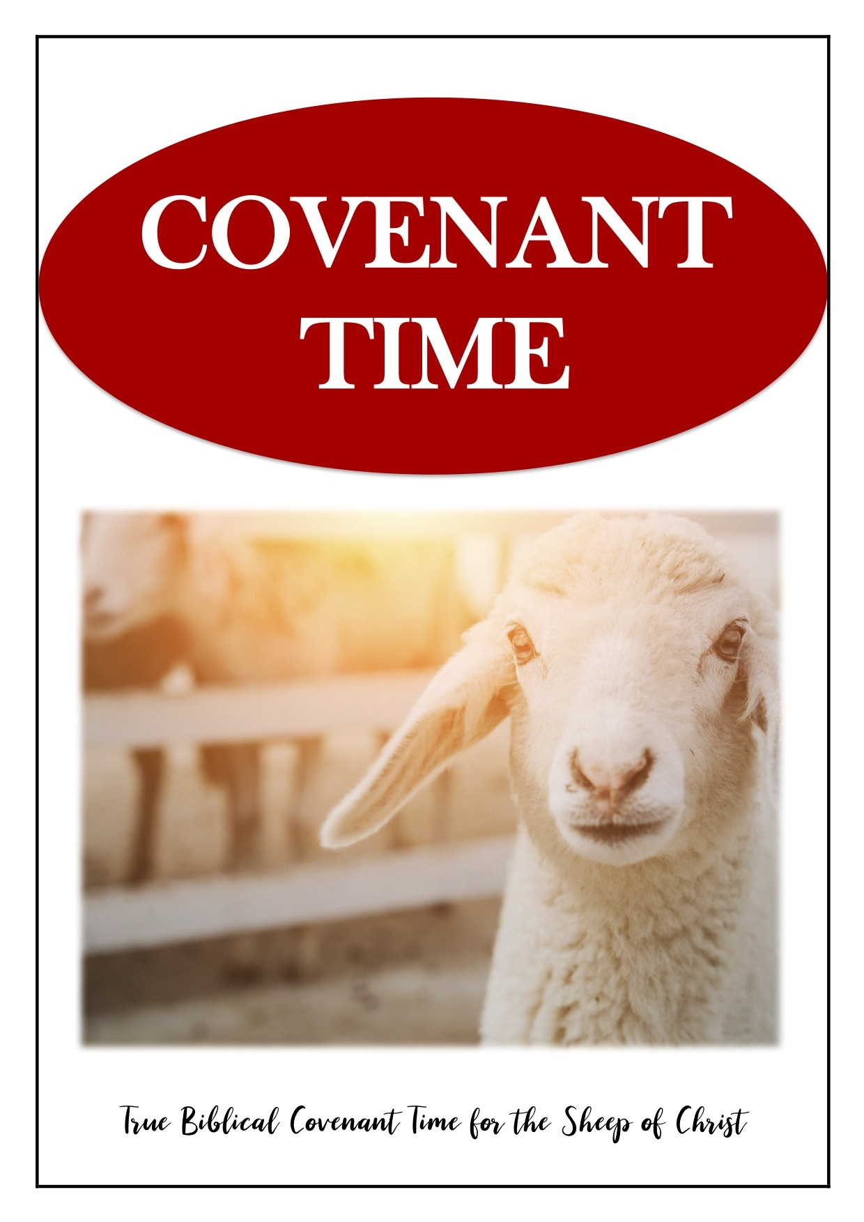 Revised - Covenant Time Booklet 2019 SKU EBCTB