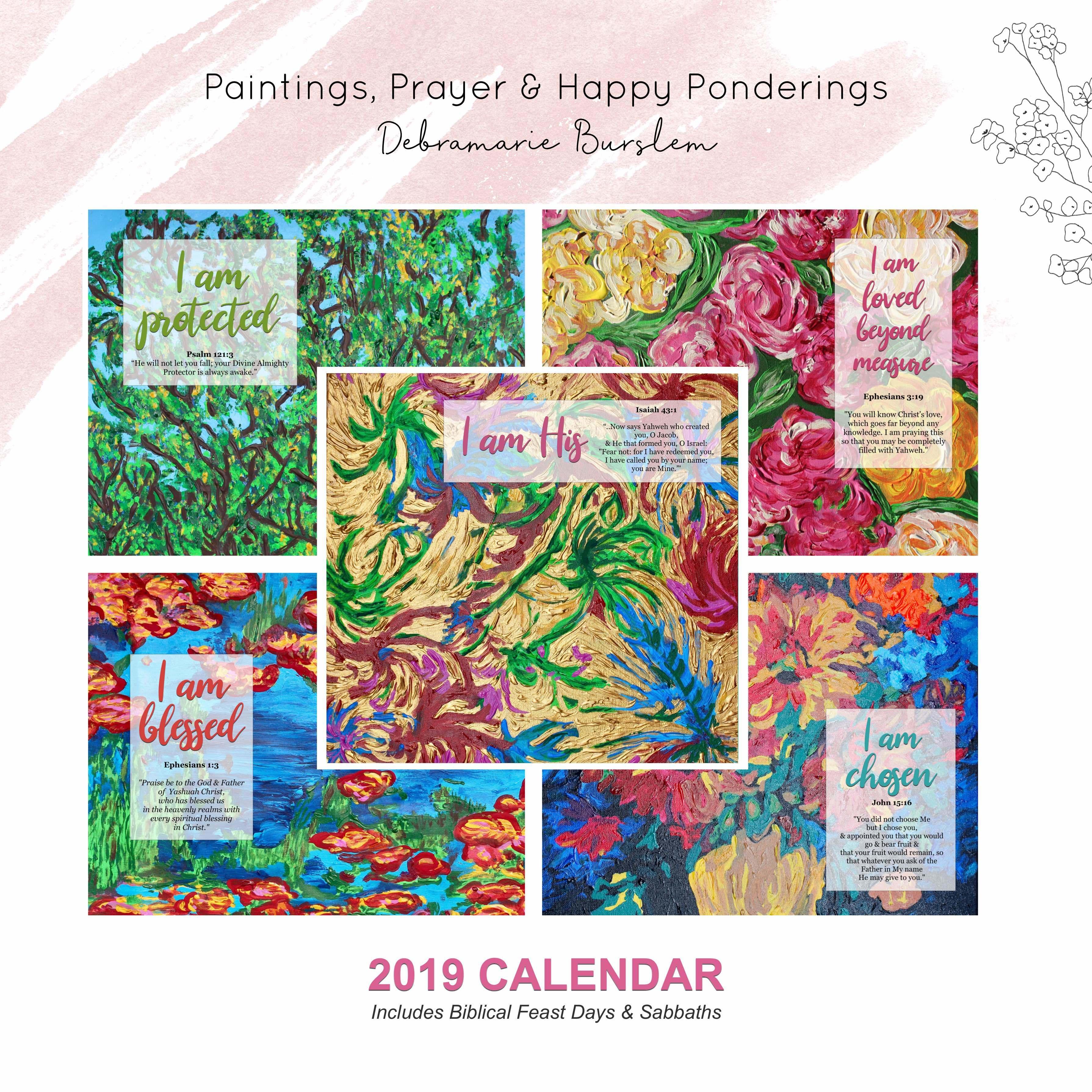 2019 Calendar CAL10