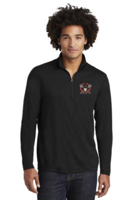 Sport-Tek ® PosiCharge ® Tri-Blend Wicking 1/4-Zip Pullover