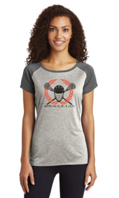 Sport-Tek® Ladies nHeather-On-Heather Contender™ Tee