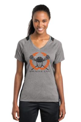 Sport-Tek® Ladies Heather-On-Heather Contender™ Tee
