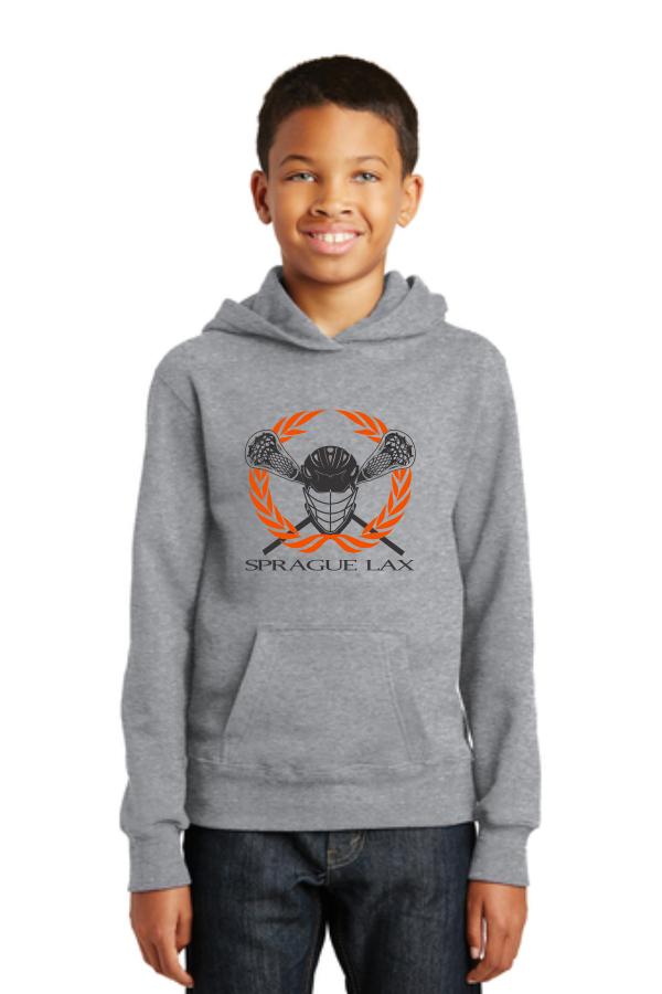 Port & Company® Youth Fan Favorite™ Fleece Pullover Hooded Sweatshirt