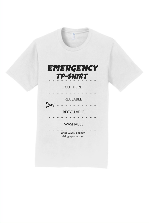 Single Ply Cotton T Shirt