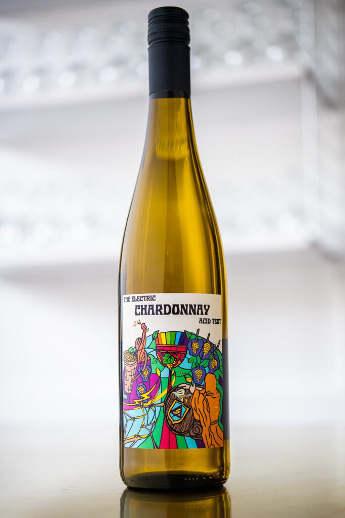 Brand 'Electric Chardonnay Acid Test' (2018)