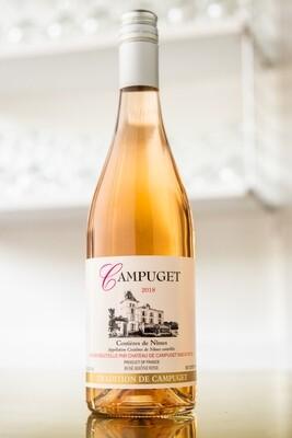 2018 Campuget Rose 70% Syrah 30% Grenache Noir