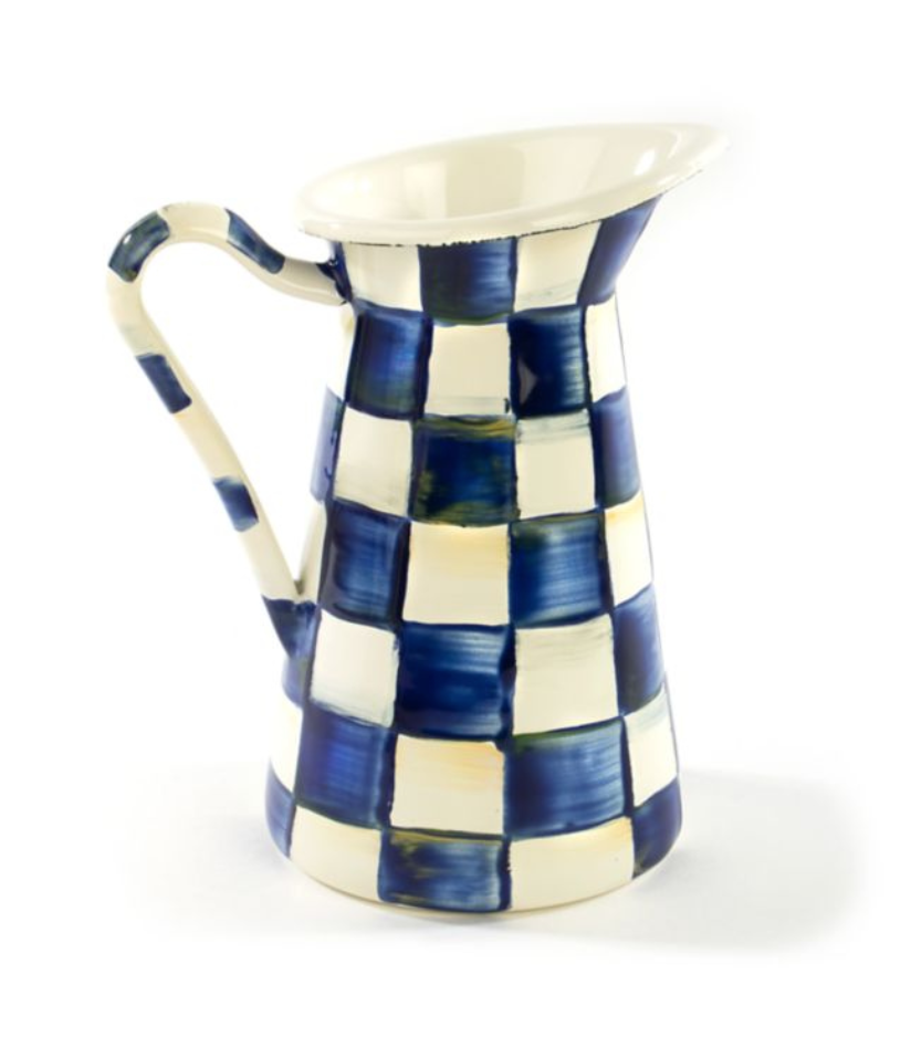 Royal Check Practical Pitcher - Small