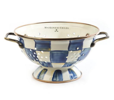Royal Check Colander Small