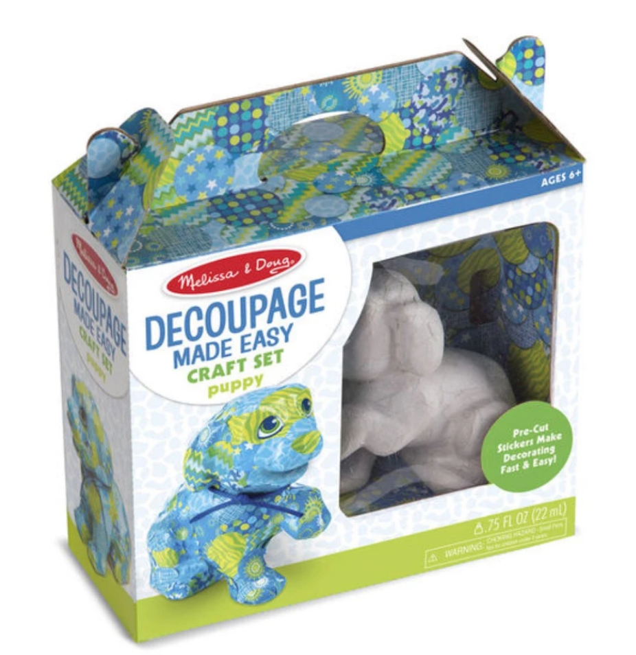 Decoupage Made Easy - Puppy 30102