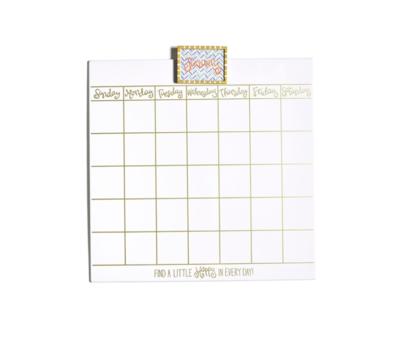 Magnetic Dry Erase Calendar Sm - HAPEV-18CALENDAR