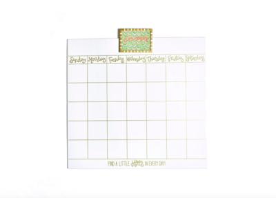 Magnetic Dry Erase Calendar Lg - HAPEV-CALENDAR