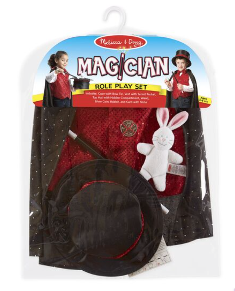 Magician Play Set Costume
