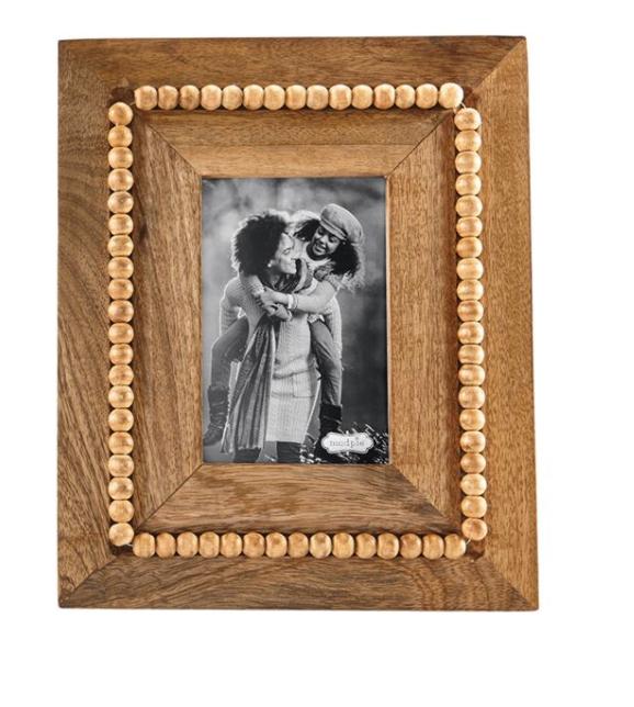 Rectangle Beaded Wood Frame #46900235R