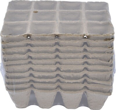 Peat Pot Tray 12 Cup