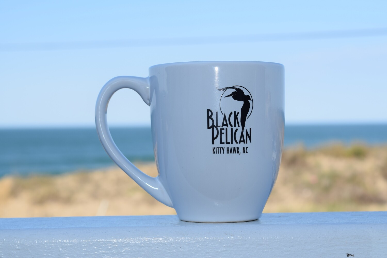 Black Pelican Coffee Mug