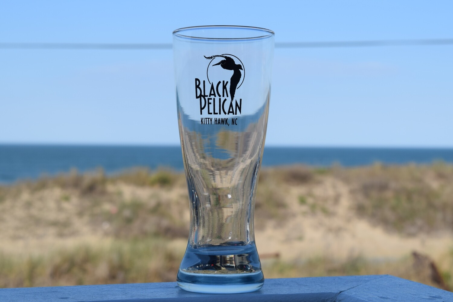 Black Pelican Pilsner Glass