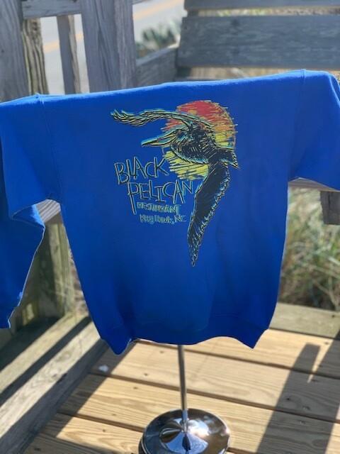 Youth Black Pelican Hoodie