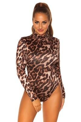 Body Leopardo   Cobra   S ao XL