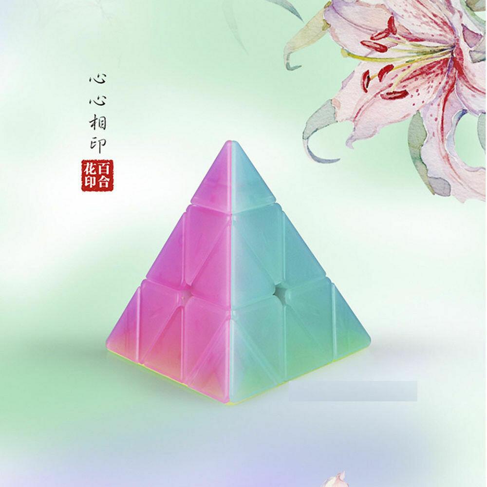 Головоломка MoFangGe QiMing Jelly Pyraminx 3x3x3