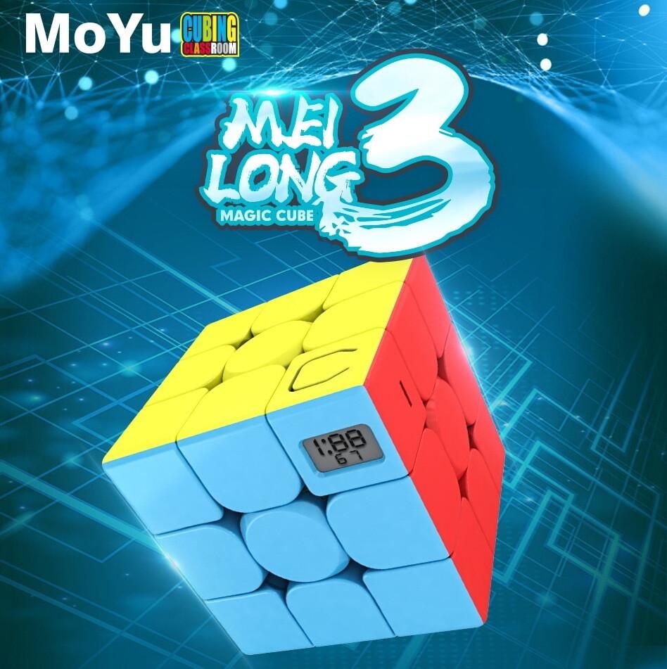 Головоломка MOYU MEILONG TIMER CUBE 3x3x3 color