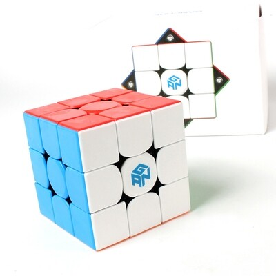 Головоломка GAN 356M 3x3x3 magnetic color