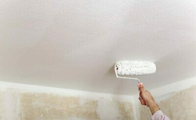 Краска для потолка самогрунтующаяся, акриловая Ceiling Paint - Paint and Primer in One