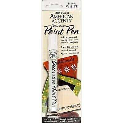 Стойкая краска-карандаш дизайнерская Decorative Paint Pen