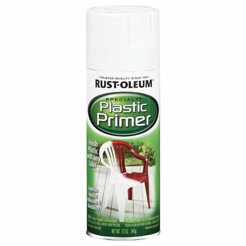 Грунт для пластика Specialty Plastic Primer Spray, спрей. Белый.  Расход 2 кв.м