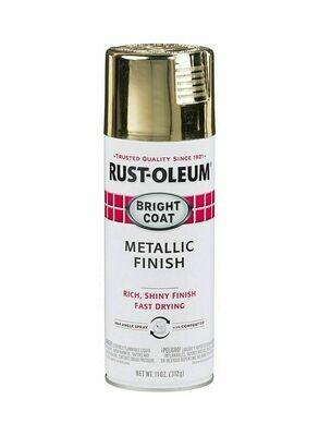 Stops Rust® Bright Coat Spray эмаль с эффектом сияющего металлика