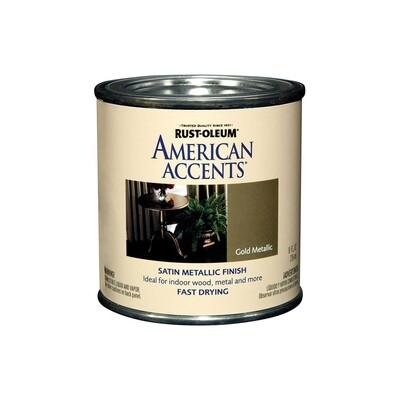 Краска с эффектом металлика на алкидной основе American Accents