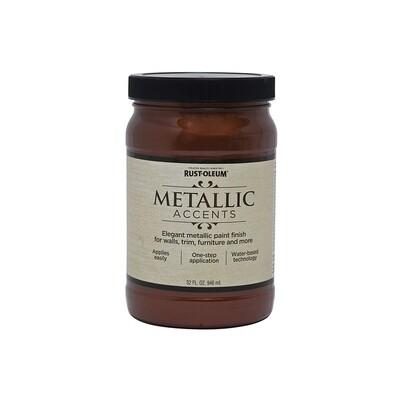 Краска с эффектом насыщенного металлика на акриловой основе Metallic Accents
