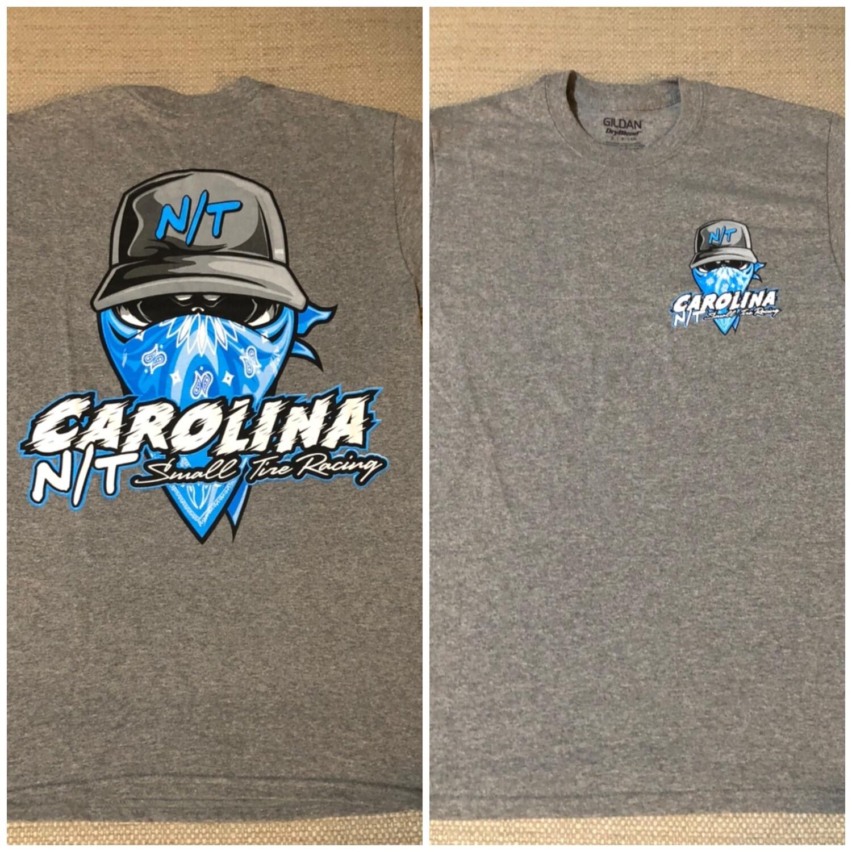 Ball Cap Bandit Grey/Carolina Blue