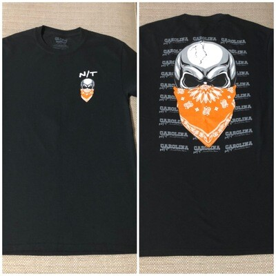 BIG SKULL Orange/Black