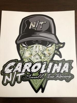 Money $$ Ball Cap Bandit Decal