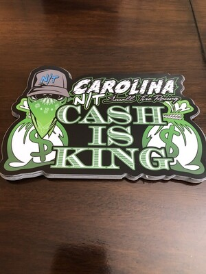 CASH is KING $$ Decal