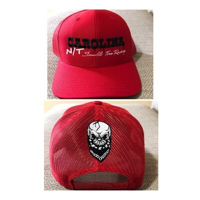 RED Trucker Hat /Black letters