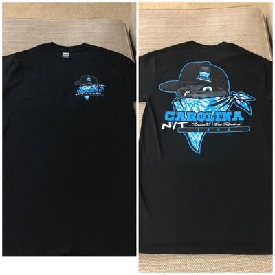 OG Bandit Black/Blue shirt