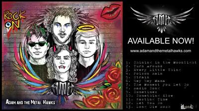 Adam and the Metal Hawks CD Plus Digital Download - INTERNATIONAL SHIPPING