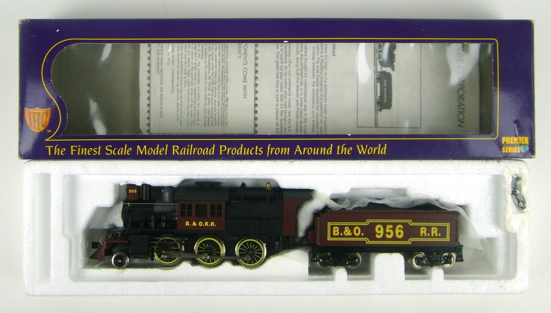 IHC Premier 23153 B&O 2-6-0 Camelback Locomotive HO Scale