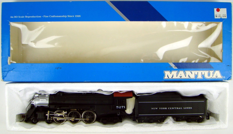 Mantua 316-22 NYC J1C 4-6-4 Hudson Locomotive #5271 HO Scale on