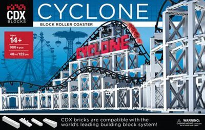 Coaster Dynamix CDX Block Building System Cyclone Roller Coaster Kit CDX